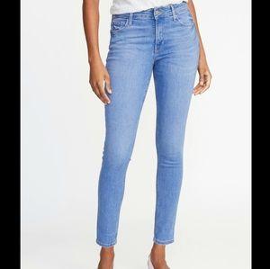 Old Navy Rockstar Super Skinny Jeans Mid Rise